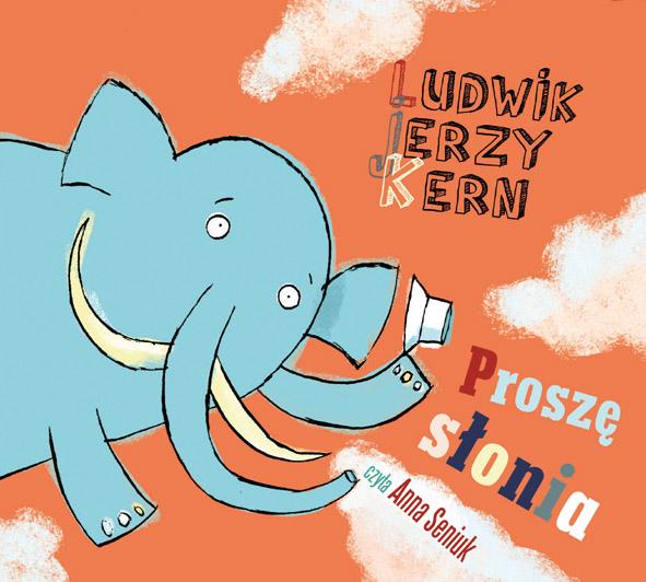 Proszę słonia przód